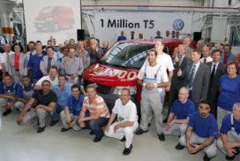 Volkswagen Transporter door de 1 miljoen