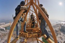 Dieven aan de haal met torenkraan van 17 ton