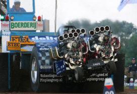 Tractor Pulling Cadzand: 'echte hightech'