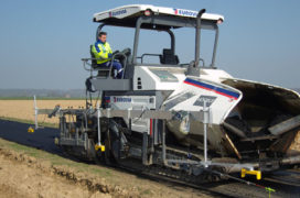 Trimble Introduceert het PCS 400 Paving Control System