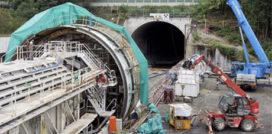 Installatie tunnelboor