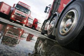 68 procent trucks heeft te lage bandenspanning