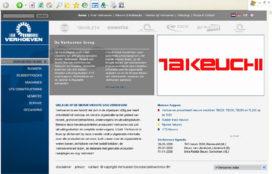 Verhoeven Grondverzetmachines heeft nieuwe website