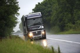 In 2012 daglichtverlichting verplicht voor vrachtwagens