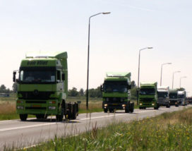 Vrachtautoproductie 2008 is nu al uitverkocht