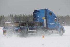 Wabco rondt winter testcyclus af in Noord-Finland