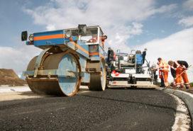Onderhoud aan snelwegen weer in volle gang