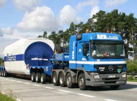 APB-Plzen investeert in Nooteboom windmolentrailers