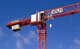 Nieuwe 'flatroof' torenkraan: de Wolffkran 6015clear