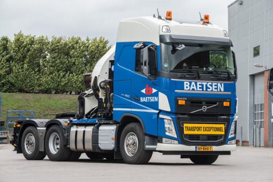 Volvo FH zwaartransport trekkers voor Baetsen