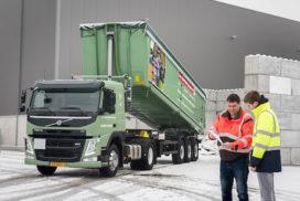 Van Happen blijft met Volvo Light Concept onder de 6 ton