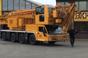 Kraanbedrijf BKF neemt Spierings SK597 AT4 in gebruik
