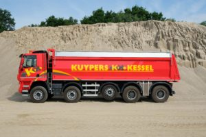 Onderhoudsarm veersysteem voor Kuypers Kessel