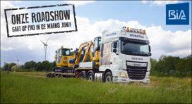 BIA organiseert Komatsu Roadshow door Nederland