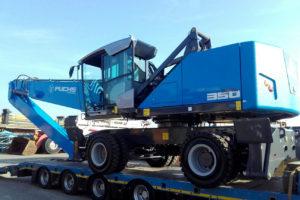 Fuchs MHL350E met 16 meter bereik voor Emmer