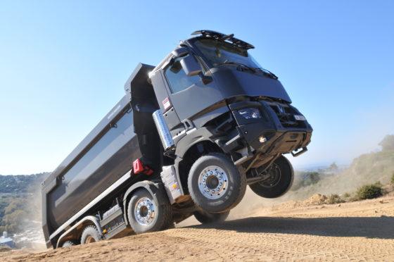 Renault Trucks heeft een prachtig programma voor de bouw.