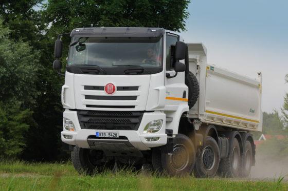 Bijzondere terreinkwaliteiten met hoog comfort voor de Tatra