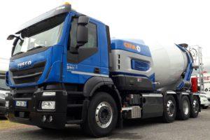 Duurzame betonmixer van Ivec en Cifa