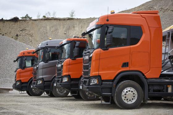 Scania biedt een enorm scala aan cabines voor de XT-serie.