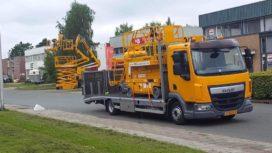 DAF LF met Veldhuizen opbouw voor MB Hoogwerkers