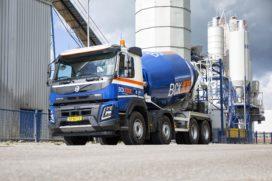 Volvo betonmixer met 43 ton GVW voor BCK