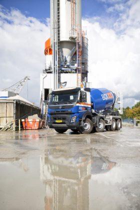 Volvo FMX betonmixer