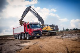 Reductum kiest Volvo FMX 10×4 Wide Spread