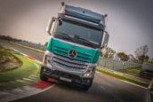 Mercedes Actros SilverStar Edition op mobiliteitsRAI