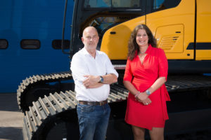 Chiel Brandenburg & Linda de Groot  van Next Rental,