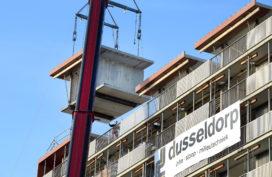 Dusseldorp ISM hijst flatwoningen uit in Kerkrade (video)