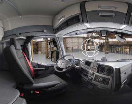 Virtueel kijkje in de cabine bij Renault Trucks