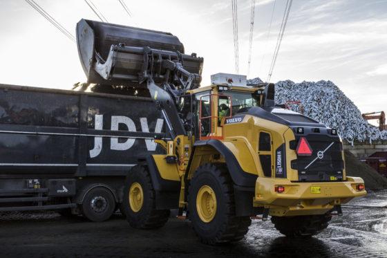 Volvo L90H en L150H Renewi Wateringen