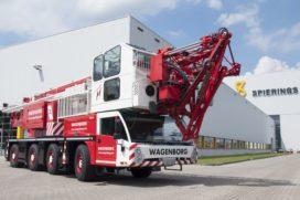 Wagenborg tekent voor vier nieuwe Spierings SK597-AT4-torenkranen