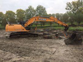 Troost levert Case CX250D aan Maatschap Voshart