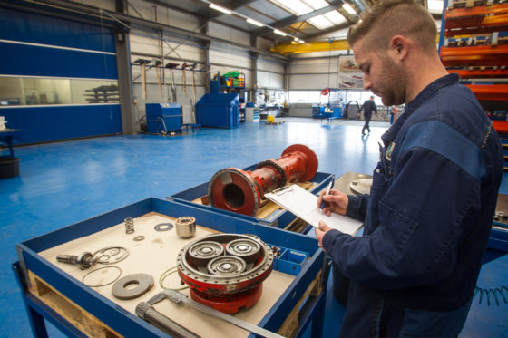 Luteijn Hydraulics in Breskens is specialist in revisie van hydrauliekpompen en -motoren. Het bedrijf is onder andere gespecialiseerd in grondverzetmachines.
