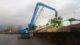 Fuchs MHL360F met 18 meter giek voor Van Leusden