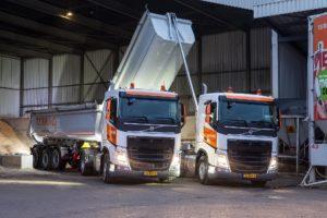 Volvo-trucks met tridemstel perfecte match voor Terraq
