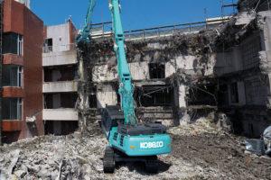 Nieuwe Kobelco sloopmachines voor Europese markt