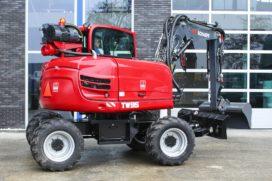 Schaeff TW95 voor RWD Wegenbouw