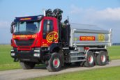 Crienen rijdt storingsvrij met wide spread Iveco Trakker