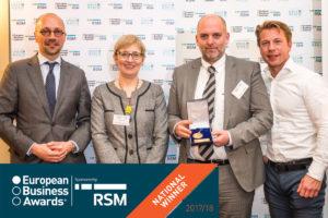 Riwal wint prijs in European Business Awards