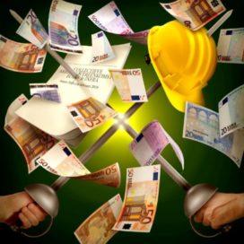 Nieuwe cao bouw en infra: 5,35 procent meer loon