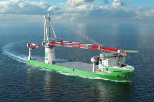 Liebherr HLC 295000 offshore-kraan